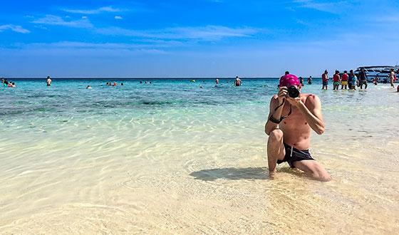 тимур мустаев на пляже