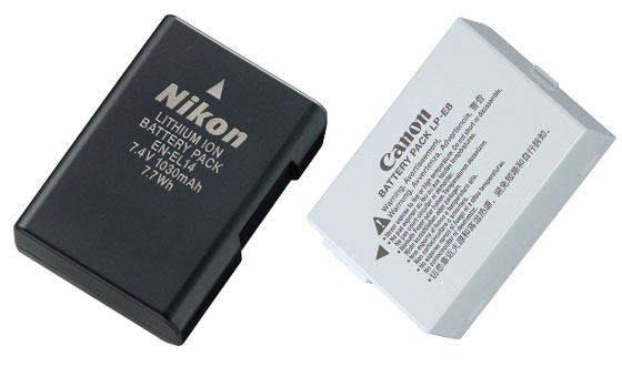 аккумуляторы для зеркального фотоаппарата