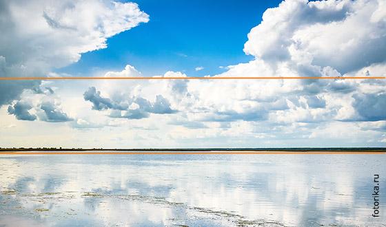 линия горизонта