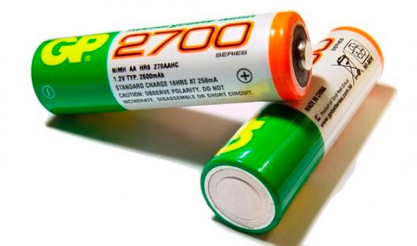 аккумуляторные батареи gp
