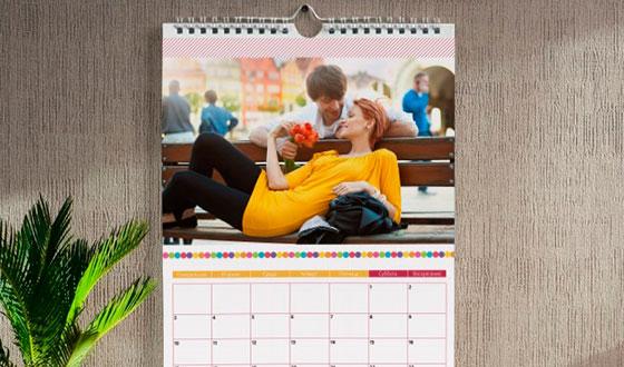 именной настенный календарь
