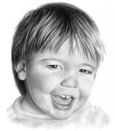портрет лица ребенка