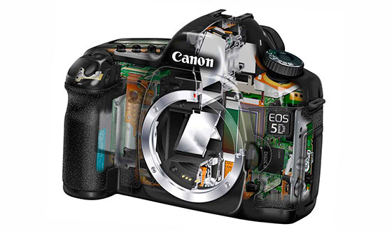 зеркальный фотоаппарат без объектива