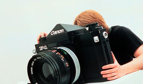 большой фотоаппарат