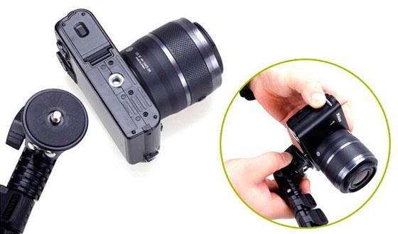 крепление для фотоаппарата на селфи палки