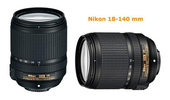 nikon 18-140 mm