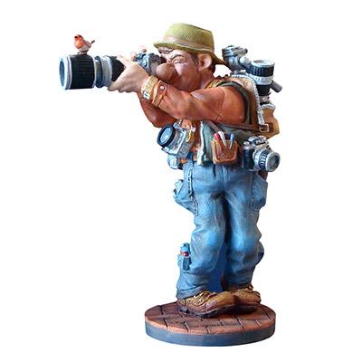 статуэтка фотограф