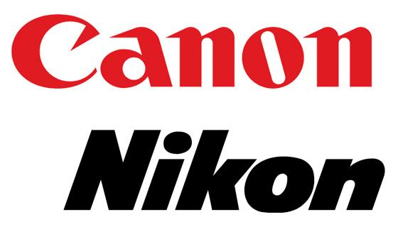 canon и nikon
