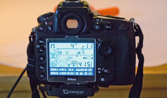 фотоаппарат с настройками