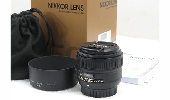 комплектация Nikon AF-S 50mm f1.8