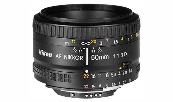 объектив Nikon AF 50mm f1.8d