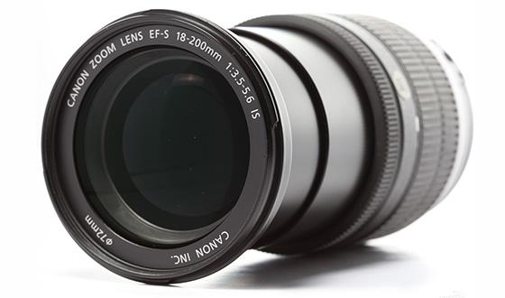 передняя часть в открытом виде 18-200mm