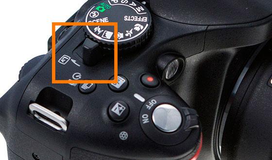 режим live view на Nikon D5200