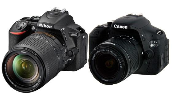 зеркальный цифровой фотоаппарат