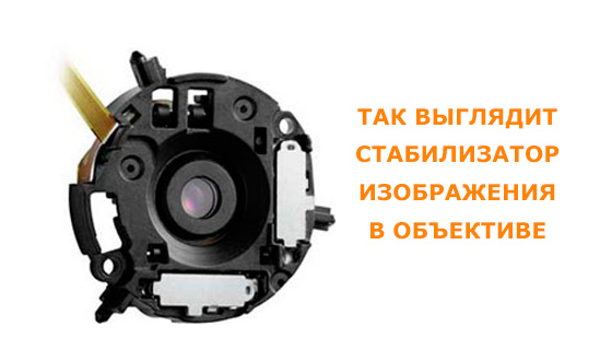 стабилизатор изображения в объективе