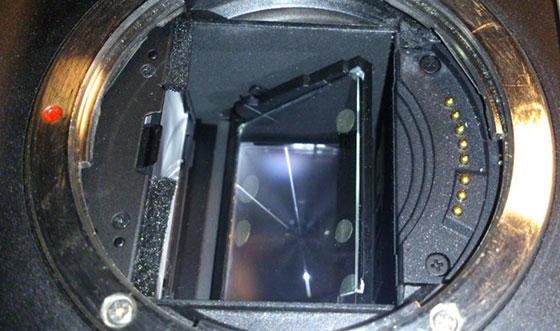 зеркало фотоаппарата