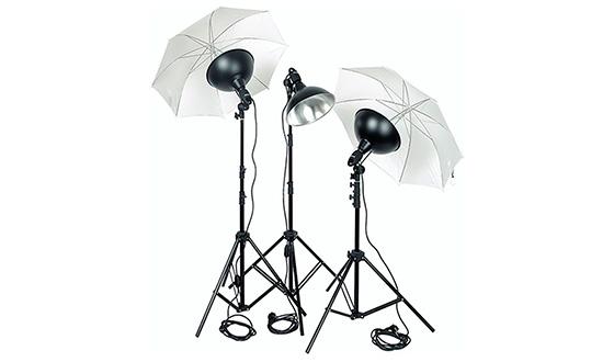 зонтик для постоянного света
