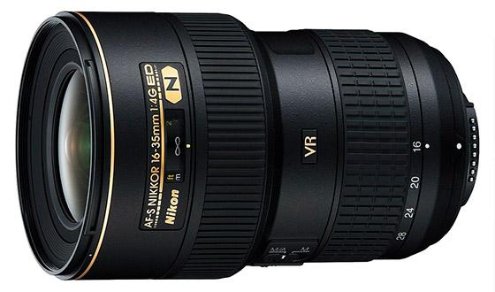 Nikon 16-35 мм f 4 G VR