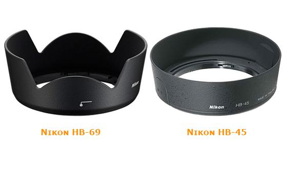 бленды для китового объектива nikon 18-55
