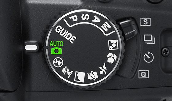 режимы в фотоаппарате