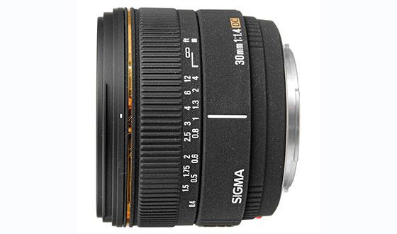 sigma EF-S 30 мм f 1,4 EX DC HSM