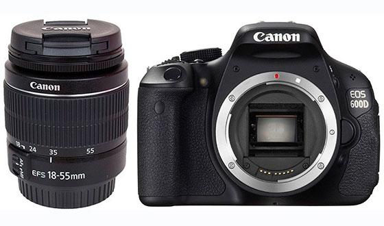 фотоаппарат кэнон 600д с объективом 18-55