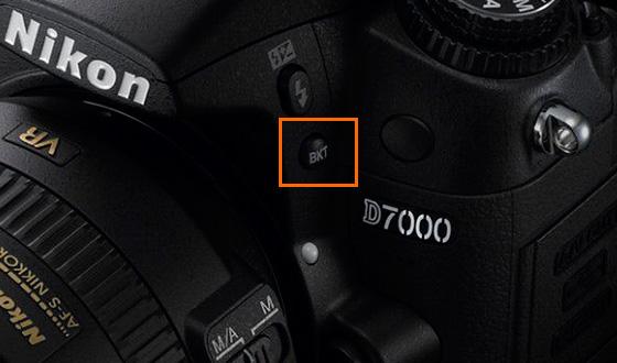кнопка bkt на фотоаппарате nikon d7000