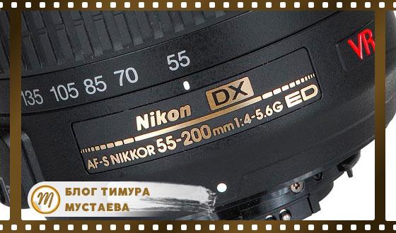 Маркировка объективов nikon