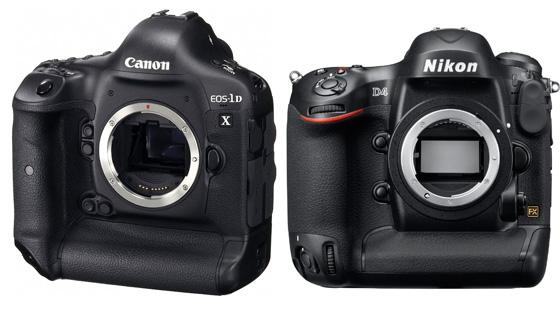 профессиональные зеркальные фотокамеры