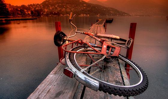 велосипед фотография сделана в hdr