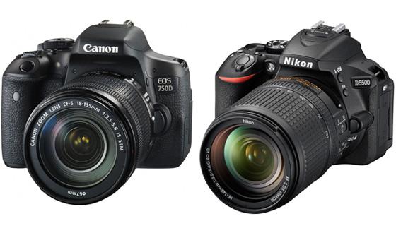 виды зеркальных фотоаппаратов