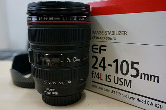 Canon 24-105 4L с коробкой