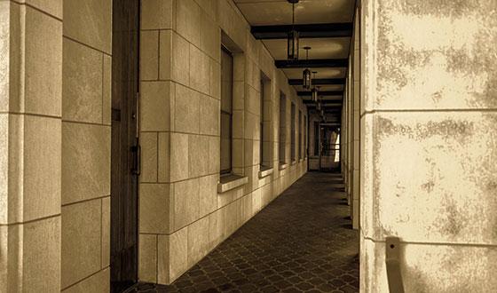 коридор здания