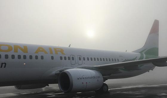 самолет сомон эир