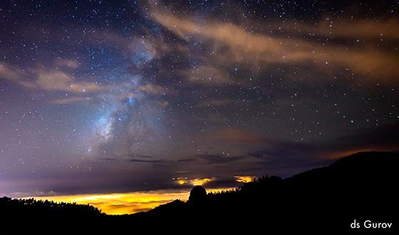 фотосъемка звездного неба