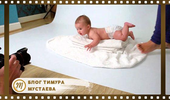 Как снимать новорожденных детей