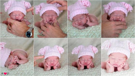 Как красиво сфотографировать младенца в домашних условиях с